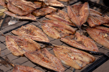 Smoked fresh fish