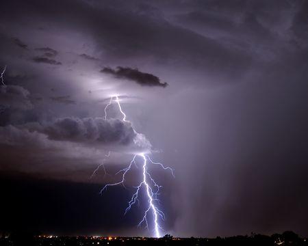 Tucson Lightning Stock Photo - 3431269