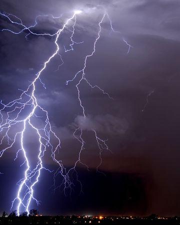 lightning storm: Tucson Lightning