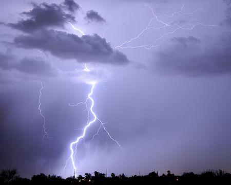Tucson Lightning Imagens - 3438752