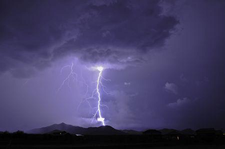 Tucson Lightning 版權商用圖片