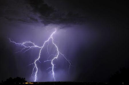 lightning strike: Tucson Lightning