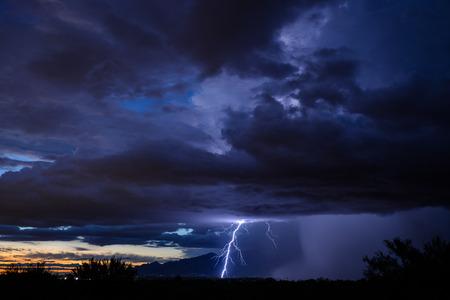 Tucson Sunset Lightning