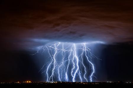thunder storm: Tucson Lightning