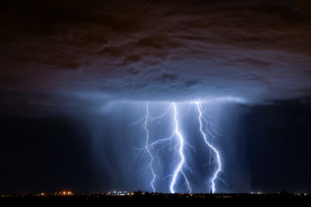 Tucson Lightning Imagens - 45487526