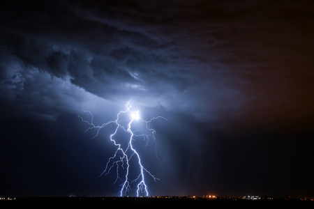 rayo electrico: Tucson Rayo  Foto de archivo