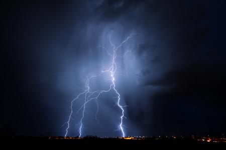 thundershower: Tucson Lightning