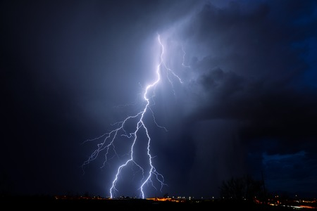 Tucson Lightning Stockfoto - 46107647