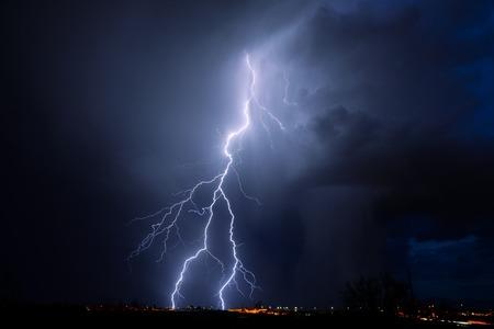 tormenta: Tucson Rayo  Foto de archivo