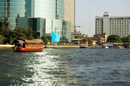 Location:Chao Phraya River, Bangkok, Thailand