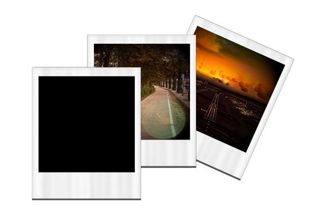 Three images on white background.