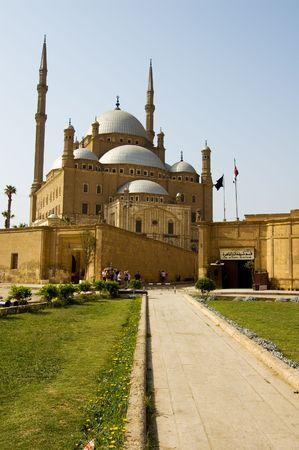 MOSQUE OF MOHAMAD ALI. 免版税图像