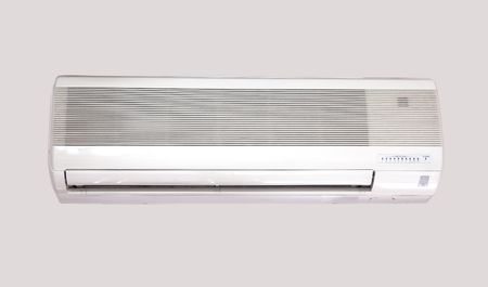 expel: Air Conditioning over gray background