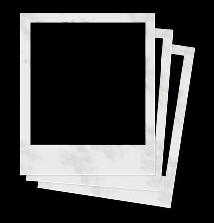 white polaroids: 3 Polaroids