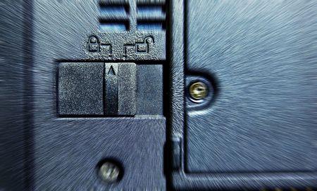 Laptop Battery Lock