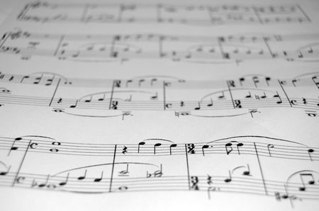 sheetmusic: SheetMusic closeup