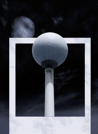 Lamp of the night photo