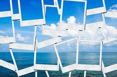 Blue Sea  Location: Pattaya, Thailand 免版税图像