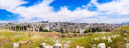 Panorama of Amman, Jordan.