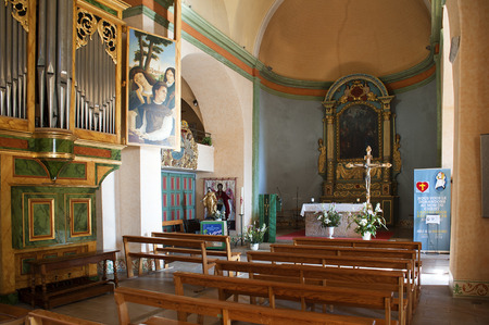 jacques: church of saint jacques le majeur mougins