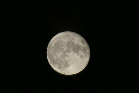 full moon on a night in August Zdjęcie Seryjne