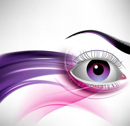 화려한 마법의 눈