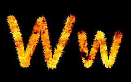 flame symbol w photo