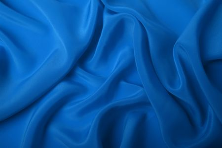blue silk: satin background