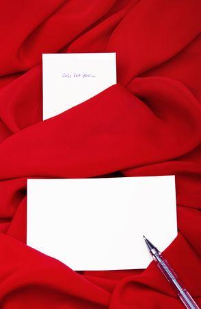 silk textile border round white paper Stock Photo - 5578543