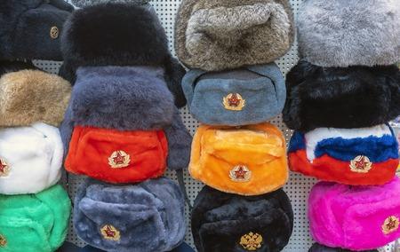 Souvenir military headdress of the Soviet times.