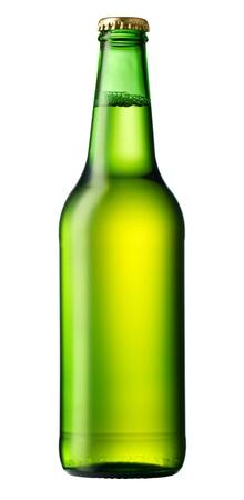 Bottle of beer isolated on white Stock Photo - 19273205