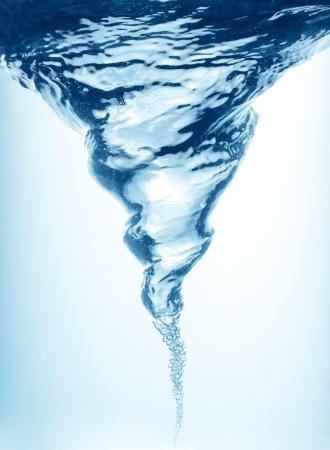 Whirlpool in blue water Reklamní fotografie - 21580836