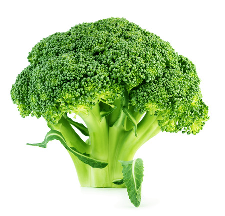 Brocoli isolated on white background