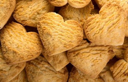 sandblasted: Cookies heart background