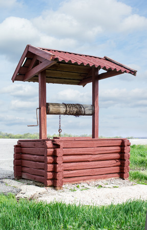 water well: Water well Stock Photo