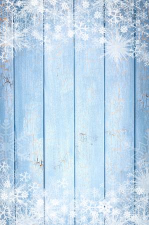 세로 배경에 아이스 나무 파란색 패널의 텍스처 스톡 콘텐츠