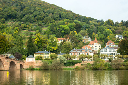 View of the old town of Heidelberg, Germany Stock Photo