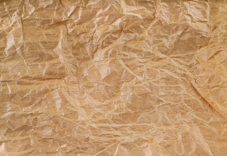 Recycle brown paper crumpled texture, old paper surface for background Reklamní fotografie