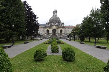 baroque architecture: Basilica of Loiola in Azpeitia (Spain).  Baroque architecture