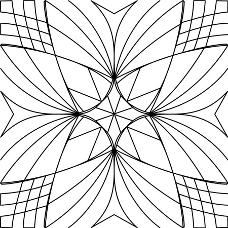 fon: Black and white pattern. This pattern can be used for background, wallpaper, tiling, pattern fills, surface texture