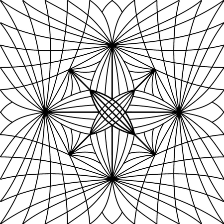 fon: Black and white pattern. This pattern can be used for background, wallpaper, tiling, pattern fills, surface texture, for 3d paneli