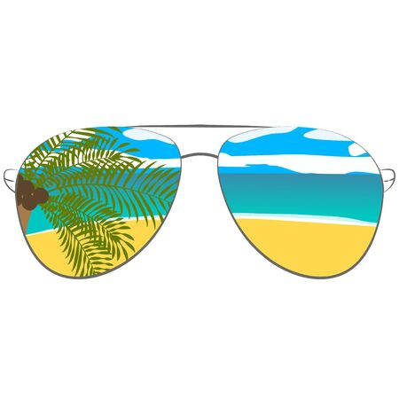 picture with sunglasses. For printed things, poster, banner background