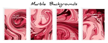 Mixture of acrylic paints. Liquid marble texture. Fluid art. Applicable for design cover, presentation, invitation, flyer, annual report, poster and business card, desing packaging. Modern artwork Ilustrace