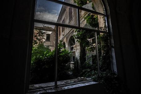 madhouse: Abandoned madhouse Stock Photo