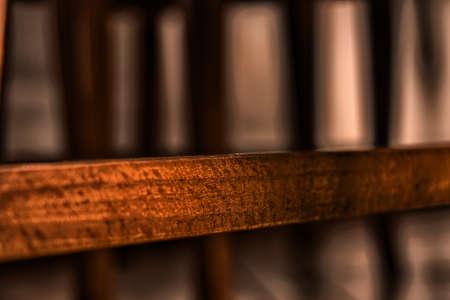Closeup of a woodden beam