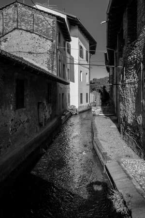 Photo of a italian town Imagens