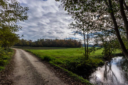Photo of a road in countryside Imagens