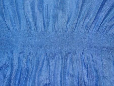 elastic band: blue cloth with elastic band