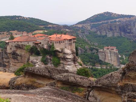 monasteri: i monasteri di Meteora Archivio Fotografico