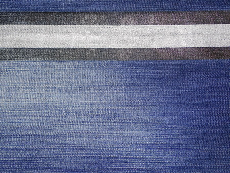 silver texture: denim texture silver and black stripes Stock Photo